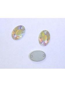 Swar Oval Sew-on 10x7 mm AB F