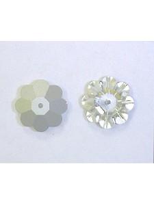 Swar Floral 14mm Clear Foiled