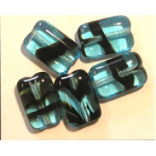 Tiffany Mini Chewy 12x8mm Blue Tortoise