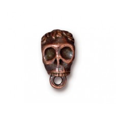 BAIL  SKULL .25 ID  Antique Copper