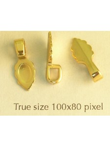 Bail (Glue-on) Small Gold Plated