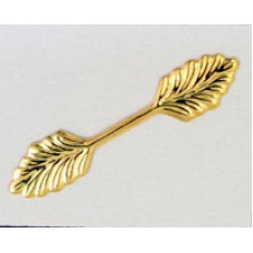 Bail Leaf 36mm Gold Plated