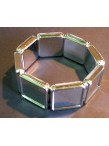 Acrylic Bracelet 20mm square (no top)