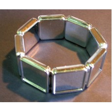 Acrylic Bracelet 20mm square (no top)