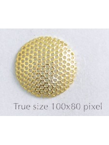 Mesh Cap Gold plated