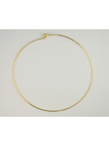 Necklace Wire Choker - 140mm G/P