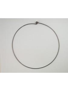 Necklace Choker 120mm Black Nickel