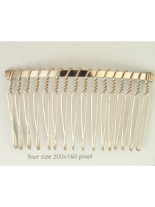 Hair Comb 4231/A3/16 Nickel Pl. (F892)