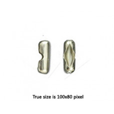 Ball Chain Connector 10x4mm Nickel
