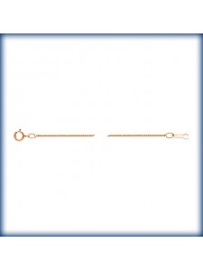 Box Chain 0.85mm Rose Gold Filled 18inch