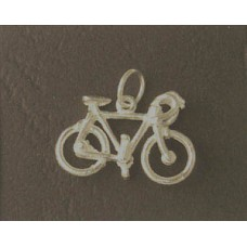 Charm St. Silver Bicycle 1.28gram
