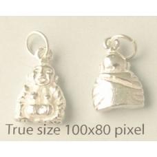 Charm St. Silver Buddha 2.95gram