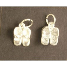Charm St. Silver  Baby Shoes 1.5 gram