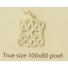 Charm St. Silver Celtic Design 0.7gram