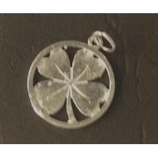 Charm St. Silver Clover Leaf 1.55 gram