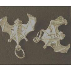 Charm St. Silver Bat 1.83gram