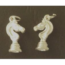 Charm St. Silver Chess Knight 1.88gram