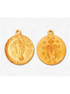 Charm Virgin Mary 18mm 14k Gold Filled