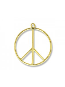Charm Peace 21mm 14K Gold Filled