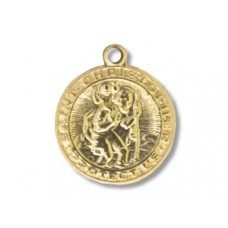 Charm St.Christopher 14K Gold filled