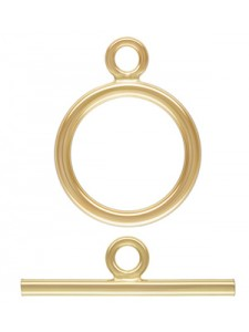 Ring Toggle 11mm Set (1.3mm wire) 14K GF