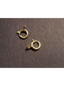 Spring Ring Light w/open Ring 5mm 14KGF