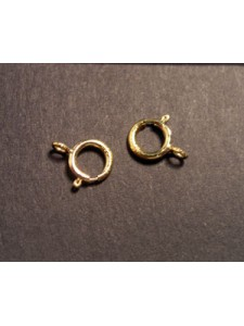 Spring Ring Light w/open Ring 6mm 14KGF