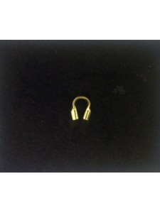 Cable Thimble (0.31in hole) 14K Gold fil