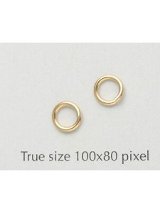 Jump Ring 1x6mm 14K gold filled