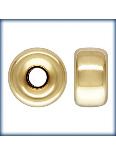 6mm Roundel H:1.5mm 14k Gold Filled