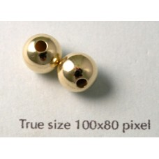 8mm Round 14K Gold filled Bead