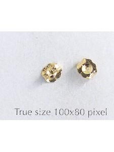 Earring Backs 14K Gold Filled - per PAIR