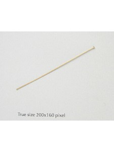 Head Pin 2 inches 14K gold filled