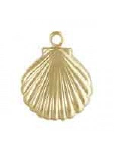 Charm 11x11mm Shell 14K Gold Filled