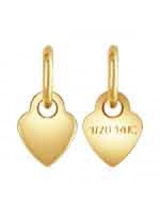 Quality Tag Heart 3.5mm w/ring