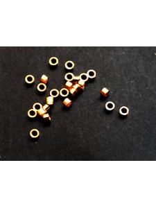 Crimp Tube 2.0 x 1.0mm Rose Gold Filled
