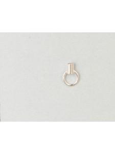 ID Crimp Endcap w/ring 1.5mm  St.Silver