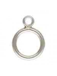 St.Silver Toggle Ring 1.3mm x 9mm