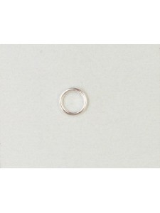 St.Silver Jump Ring 6x0.9mm SOLDERED