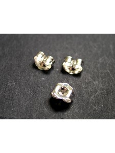 St.Silver Earring Back Heavy - PAIRS