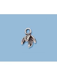 St.Silver Leaf Pearl Cup ID 5mm w/peg