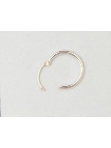St.Silver Earring Hoop 12x1.25mm - EACH