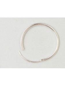 St.Silver Earring Hoop 20x1.25mm - EACH
