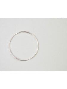 St.Silver Earring Hoop 30x1.25mm - EACH