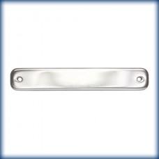 St.Silver Bar 6.4x38mm w/2holes 1.25mm