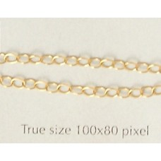 Chain Cable 2mm Gold Filled - per gram