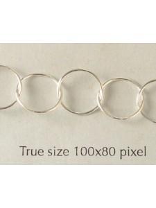 Chain St.Silver Round 10x0.6mm -per gram