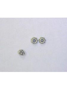 St. Silver Bead Tiny Cnr Beads ~0.16gram