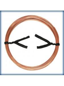 Wire Rose Gold Filled 22ga 0.64mm 0.5oz