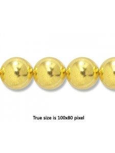 Bead (Copper) 10mm H:2mm Gold plated